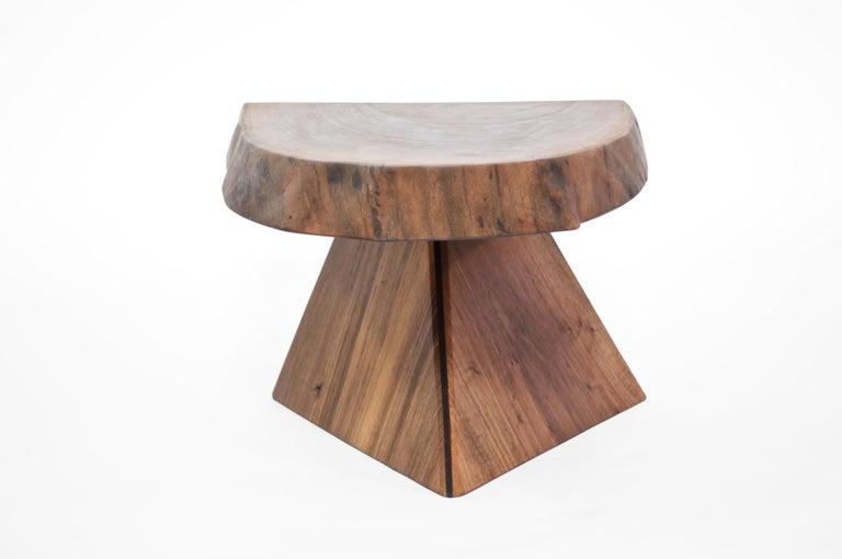 German Unique Walnut Signed Table by Jörg Pietschmann For Sale