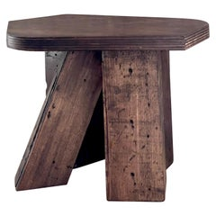 Unique Wood Stool by Goons