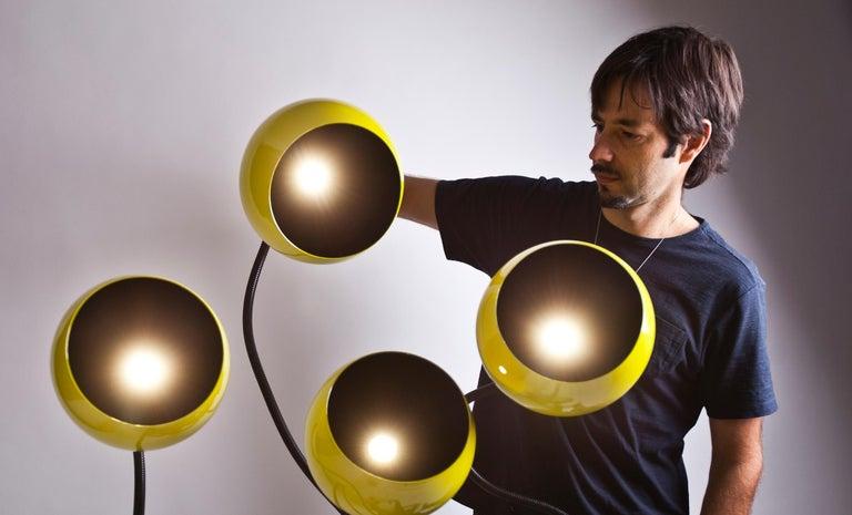 Brazilian Unique Xango Floor Lamp by Gustavo Dias For Sale