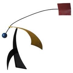 Unique XL Kinetic Mobile Sculpture, 1960s