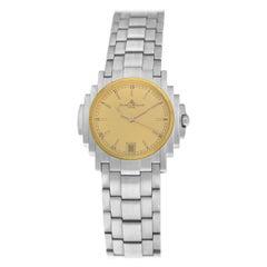 Unisex Baume & Mercier Shogun 5136.018.3 Stainless Quartz Watch