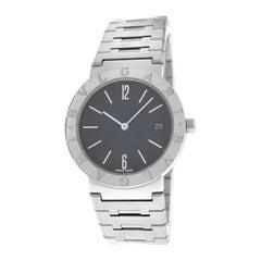 Unisex Bvlgari Bulgari BB33SS Steel Date Quartz Watch