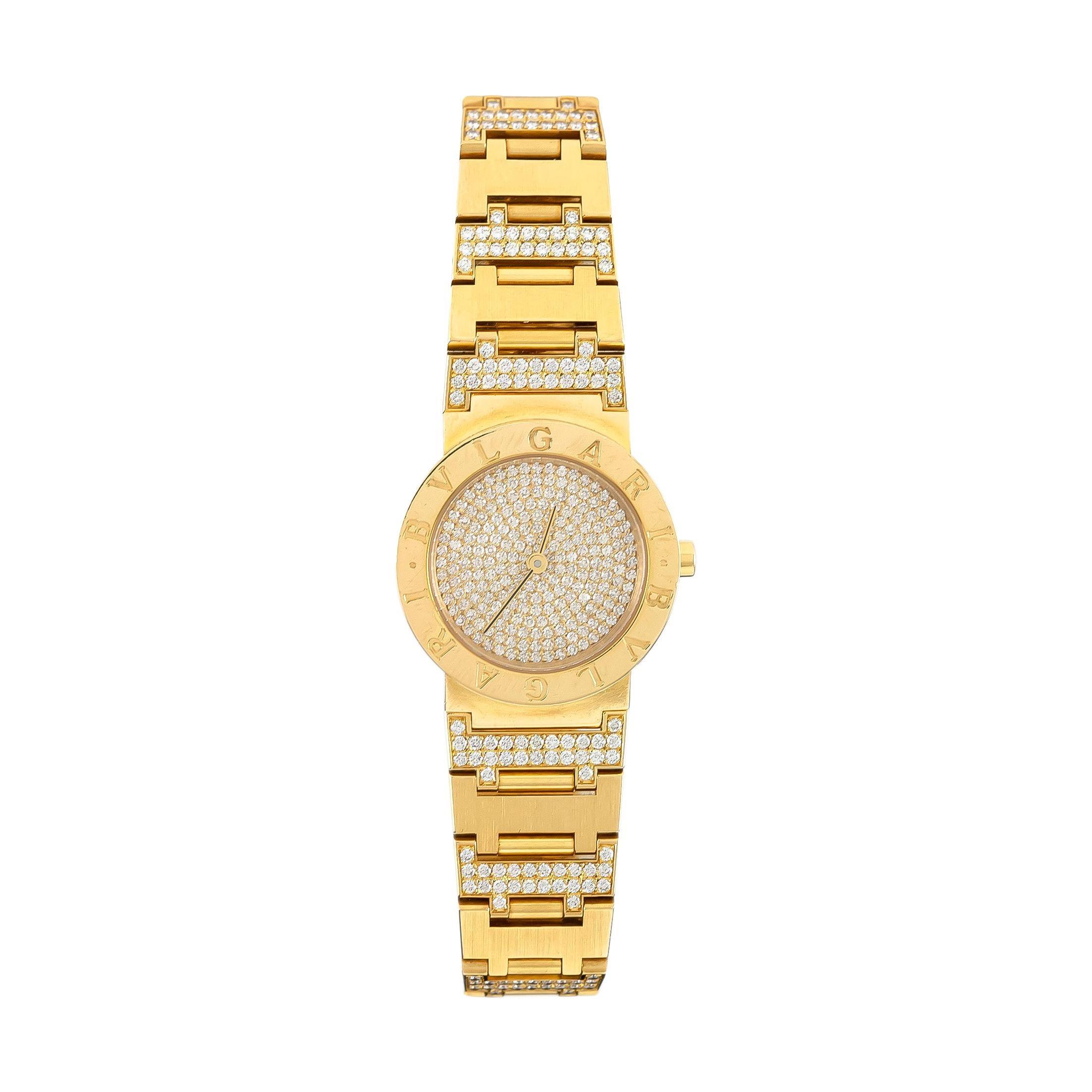 Unisex Bvlgari Diamonds Watch