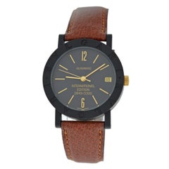 Unisex Bvlgari International Edition Limited Edition Carbon Gold Automatic Watch
