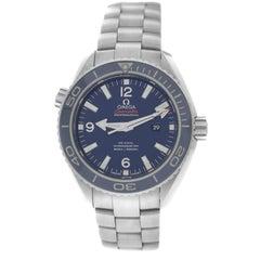 Unisex Midsize Omega Seamaster Titanium Automatic Watch