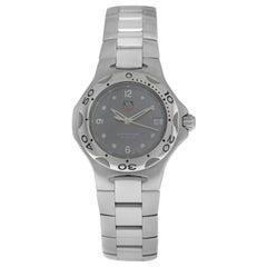 Unisex TAG Heuer Kirium WL1211-0 Stainless Steel Date 200M Quartz Watch