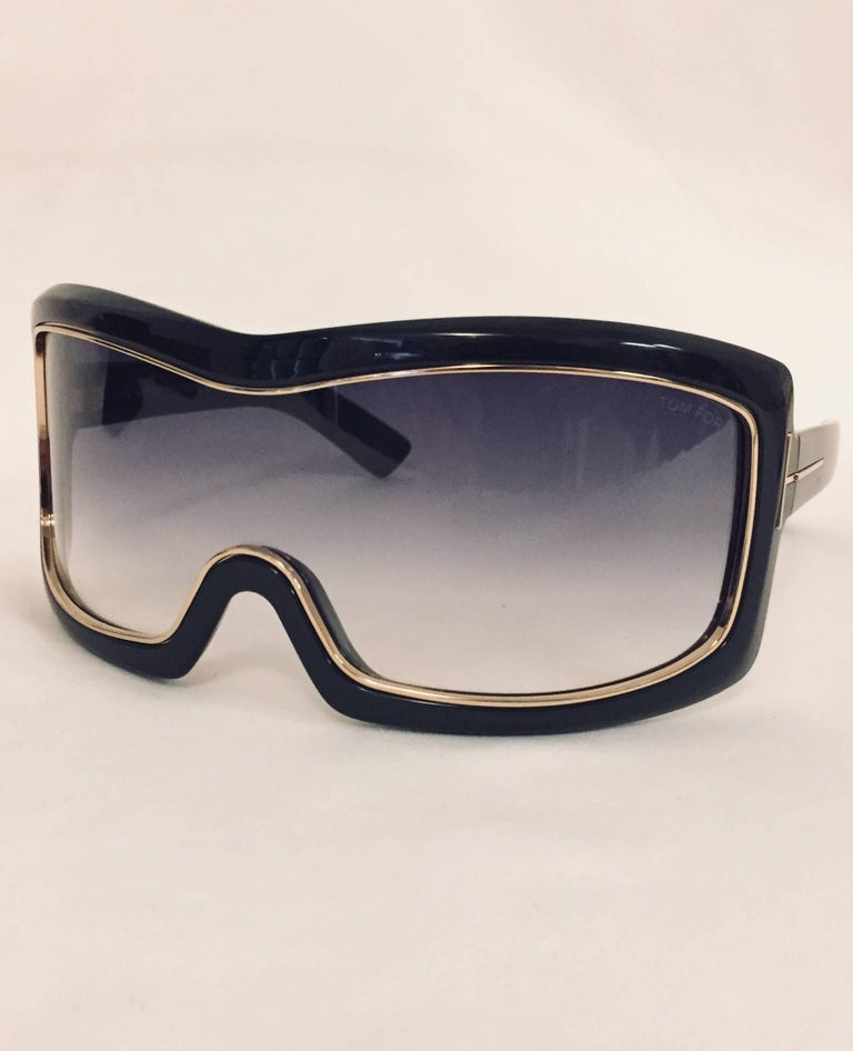 0019df9f9489 A fabulous pair of Tom Ford wrap sunglasses for ultimate sun protection as  well as a