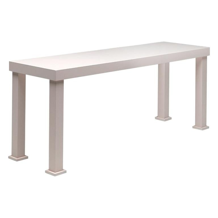 quality design eae38 577b7 Universal Console Table in Open-Pore Lacquered Ash Wood by Aldo Cibic