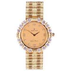 Universal Geneve Golden Shadow Model 18K Diamond Wrist Watch