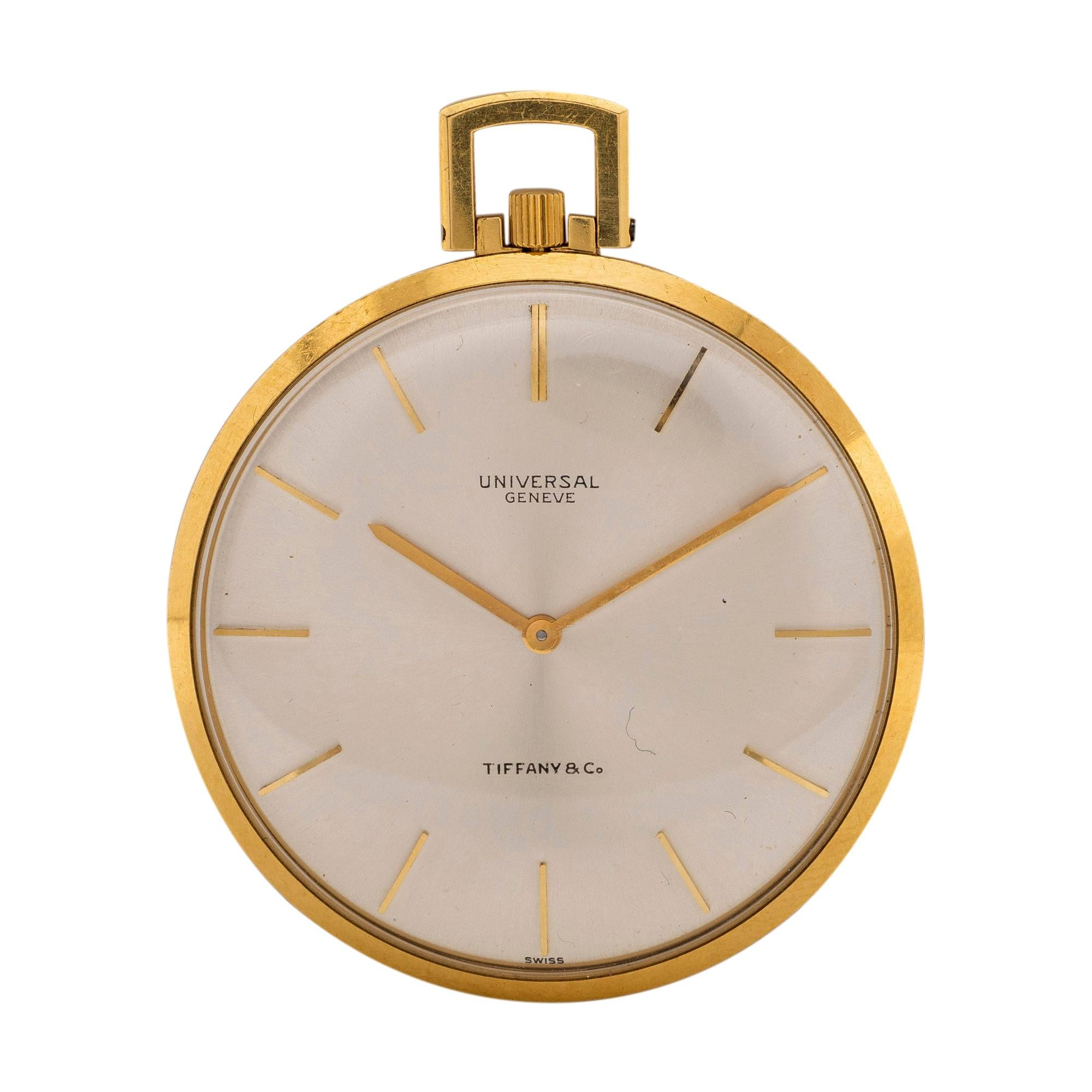 Universal Geneve Openface Watch, Retailed by Tiffany & Co.