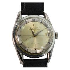 Universal Geneve Polerouter Automatic Steel Men's Wrist Watch