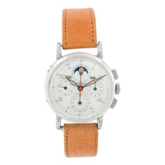Universal Geneve Tri-Compax Moonphase Chronograph Watch
