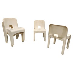 Universal Plastic Chairs Model 4869 by Joe Colombo for Kartell
