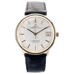 Universal Polerouter Geneve Tiffany & Co. Yellow Gold Micro Rotor Wristwatch