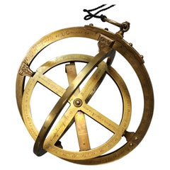 Universal Three-Ring Equinoctial Ring Dial for All Latitudes