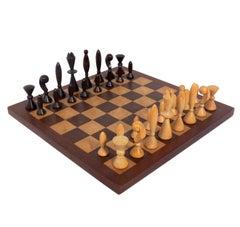 """Universum"" Chess Set Designed by Arthur Elliot for ANRI, Italy"