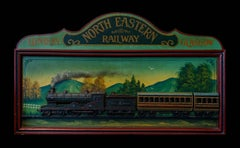 A London to Glasgow North-Eastern Railway sign, 20th Century