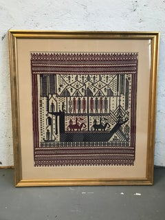 ancient ekat embroidery and tapestry