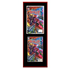 Avengers - Hawkeye 397 Framed Separations Display - Pop Art, Marvel