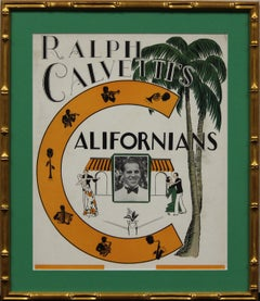 Californians Nightclub c.1930's Signage