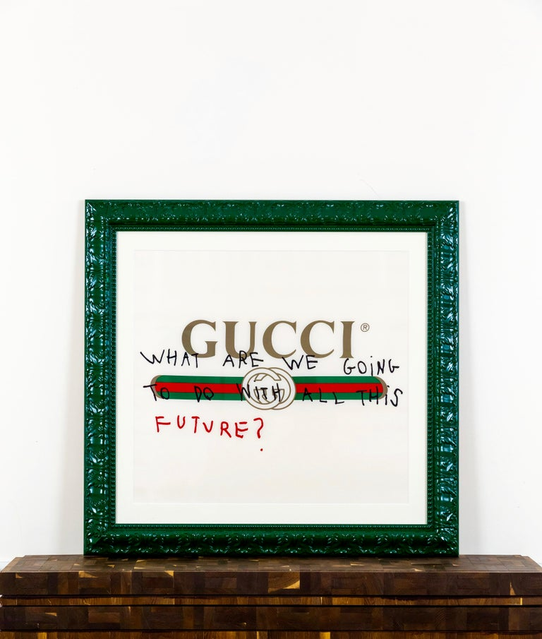 GUCCI - WHAT ARE WE GOING TO DO WITH ALL THIS FUTURE - 2017 - EL CAPITAN For Sale 1