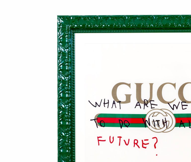 GUCCI - WHAT ARE WE GOING TO DO WITH ALL THIS FUTURE - 2017 - EL CAPITAN For Sale 2