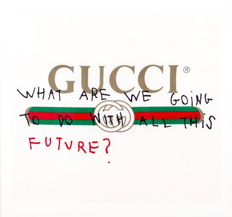 GUCCI - WHAT ARE WE GOING TO DO WITH ALL THIS FUTURE - 2017 - EL CAPITAN For Sale 3