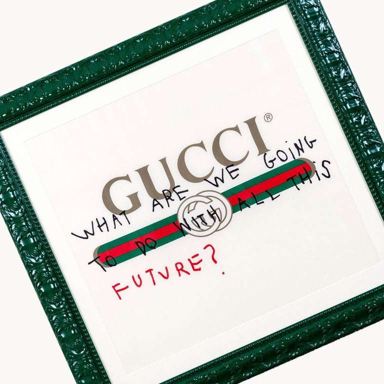 GUCCI - WHAT ARE WE GOING TO DO WITH ALL THIS FUTURE - 2017 - EL CAPITAN For Sale 4
