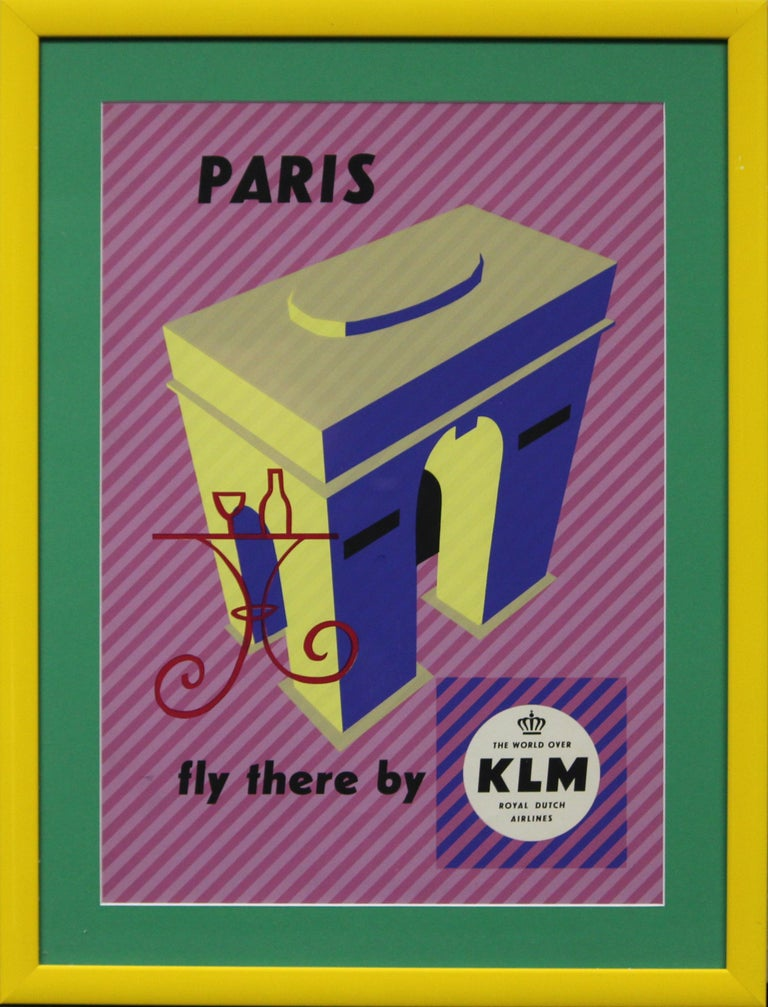 KLM Paris - Mixed Media Art by Unknown