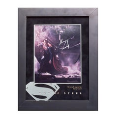 Man of Steel Signed Photo Display, Henry Cavill. - Pop Art, Signed by artist
