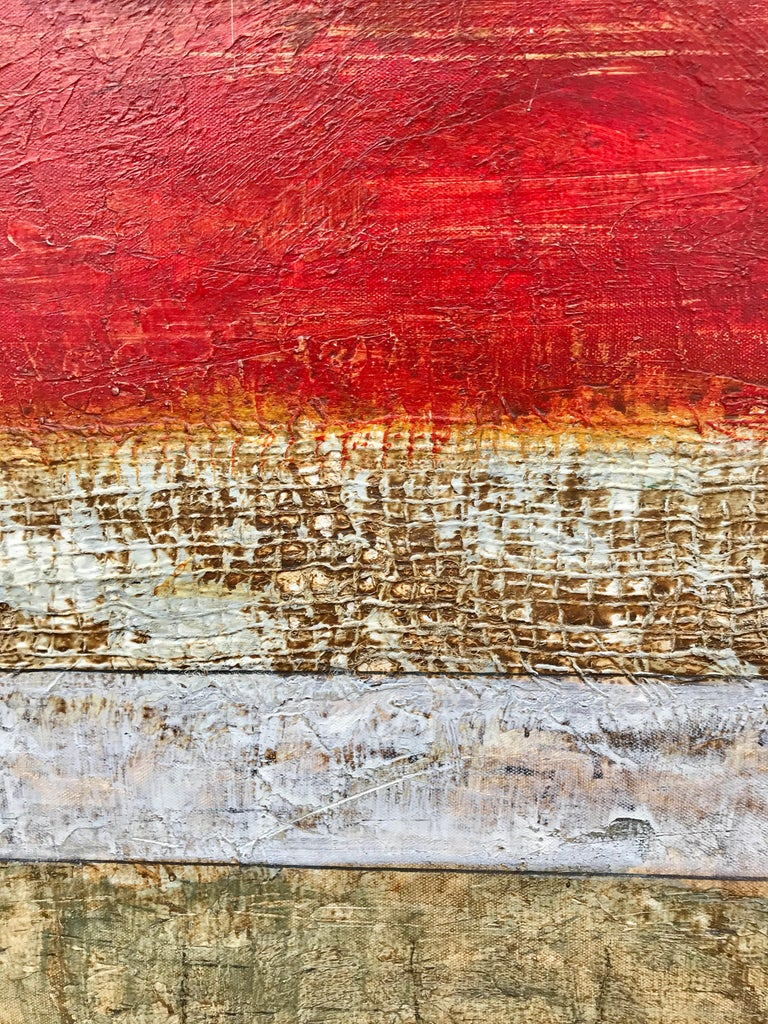 """Pasion en Silencio 2"" - Abstract Mixed Media Art by Unknown"