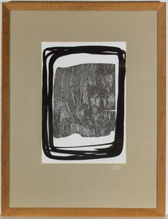 Peter Thursby FRBS (1930-2011) - Framed 1969 Mixed Media, Black Surround