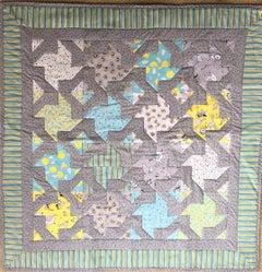 """Pinwheels"" quilt"