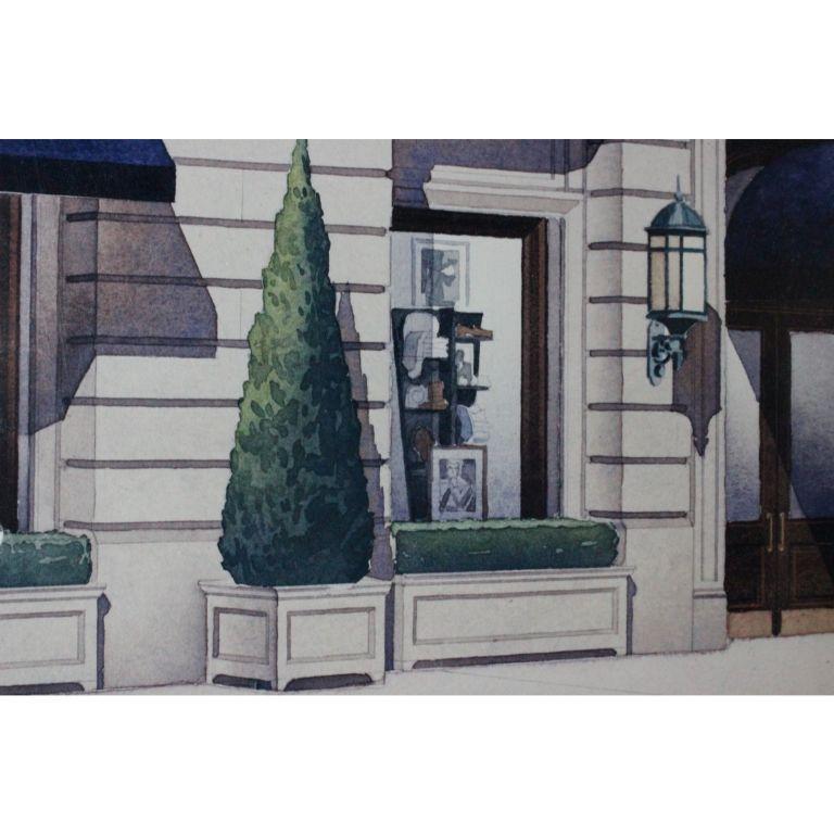 Polo Ralph Lauren Chicago North Michigan Avenue Architect's Rendering For Sale 1