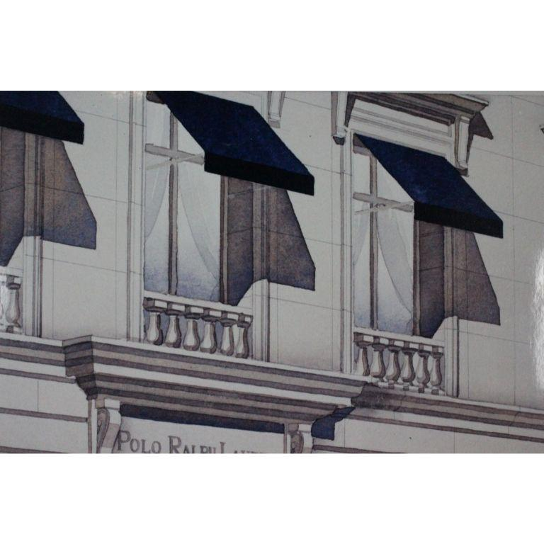 Polo Ralph Lauren Chicago North Michigan Avenue Architect's Rendering For Sale 2