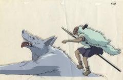Princess Mononoke Original Animation Cel, Studio Ghibli, Hayao Miyazaki