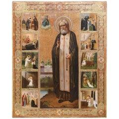 Russian Icon, late 19th century