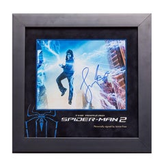 The Amazing Spider Man 2 Signed Photo Display, Jamie Foxx. - Pop Art, Signed