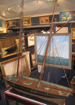 "Two-Masted Schooner ""Gipsy""-  Ship Model"