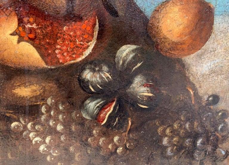 16th century Italian still life painting - Autumn - Oil Canvas Arcimboldo school For Sale 6