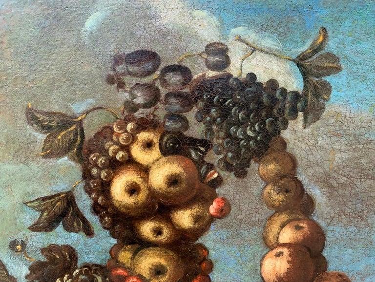 16th century Italian still life painting - Autumn - Oil Canvas Arcimboldo school For Sale 3