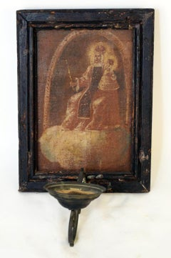 17th - 18th C. European Religious Oil Painting / Icon