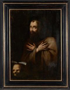 17th C, Baroque, Saint, Probably Flemish School, Saint Francis in Ecstasy