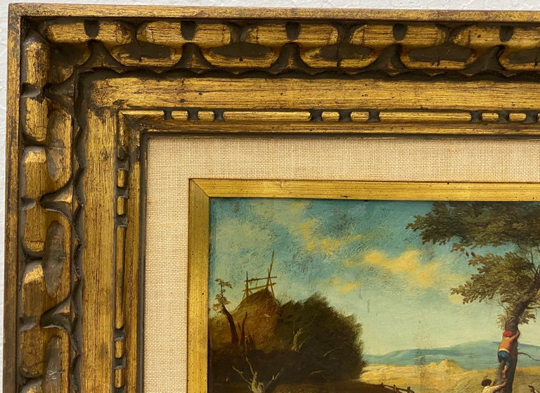 17th Century Flemish School Oil Painting on Copper Panel For Sale 2