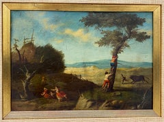 17th Century Flemish School Oil Painting on Copper Panel
