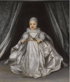 17th Century Portrait of King Charles II when a Baby