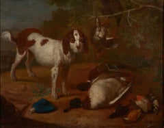 18th C, Hunting Scene, Dutch School, After the Hunt