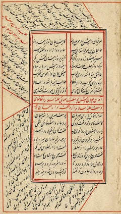 18th Century Anonymous Persian Manuscript