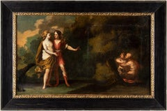 18th century Flemish figure painting - Diana - Oil on canvas Wouters
