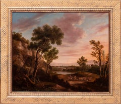 18th Century French landscape in the circle of Claude Lorraine